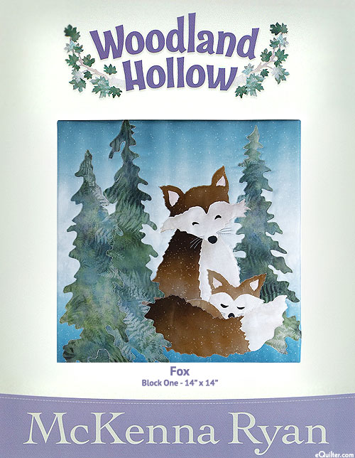Woodland Hollow - Fox - Pattern by McKenna Ryan