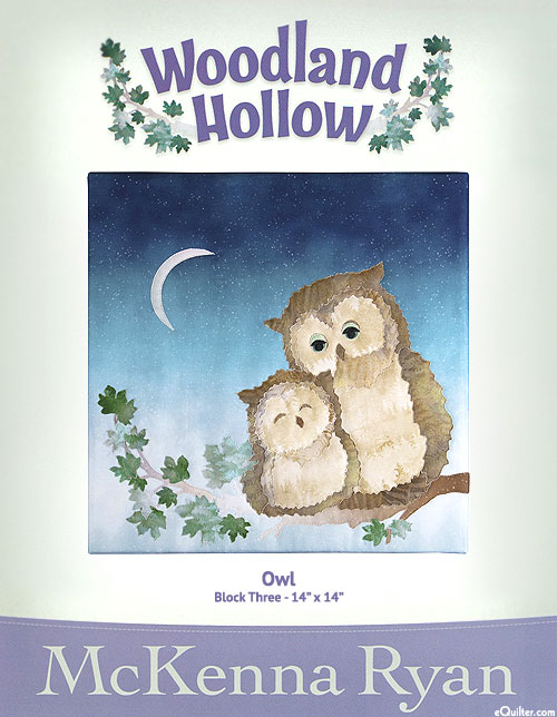 Woodland Hollow - Owl - Pattern by McKenna Ryan