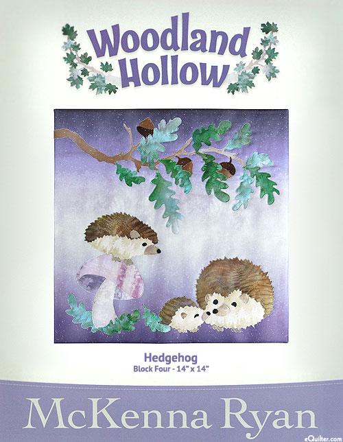 Woodland Hollow - Hedgehog - Pattern by McKenna Ryan