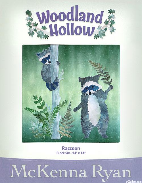 Woodland Hollow - Raccoon - Pattern by McKenna Ryan