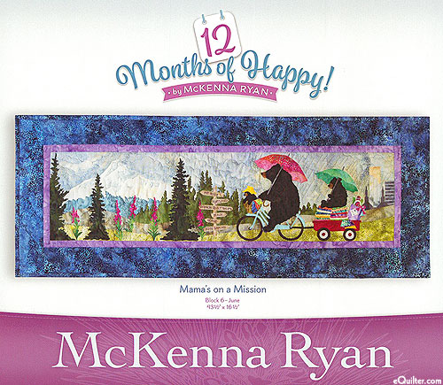 12 Months of Happy - Mama's on a Mission - June Pattern