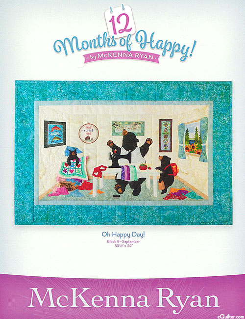 12 Months of Happy - Oh Happy Day! - September Pattern