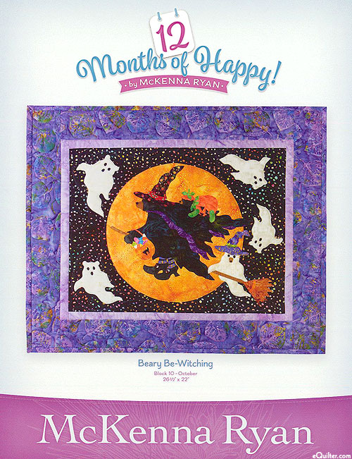 12 Months of Happy - Beary Be-Witching - October Pattern
