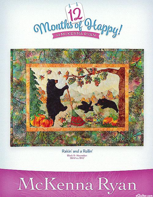 12 Months of Happy - Rakin' and a Rollin' - November Pattern
