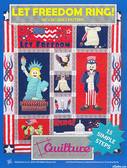 Let Freedom Ring - Appliqué Pattern by Quilture