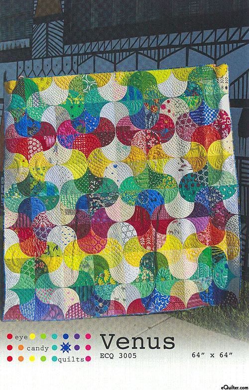 Venus - Quilt Pattern by Eye Candy Quilts