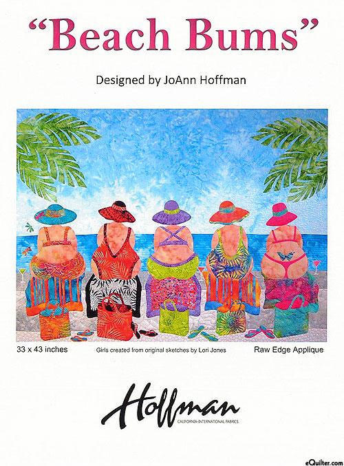 Beach Bums - Appliqué Pattern by JoAnn Hoffman