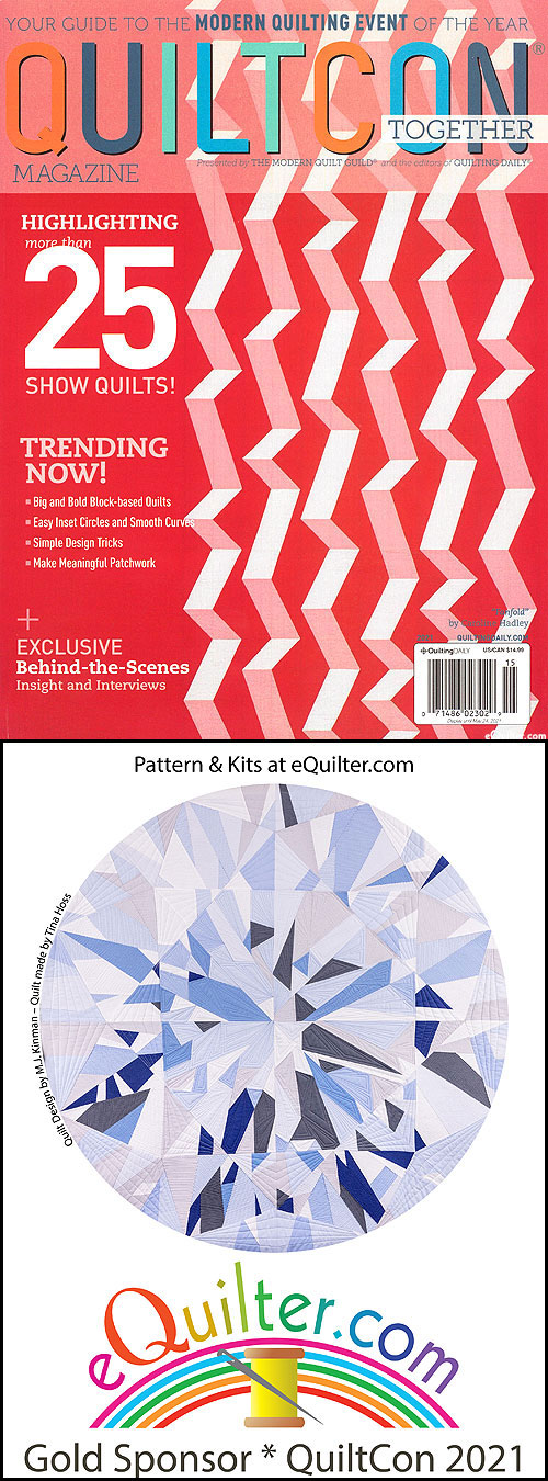 QuiltCon Magazine - Modern Quilting at its Best - 2021