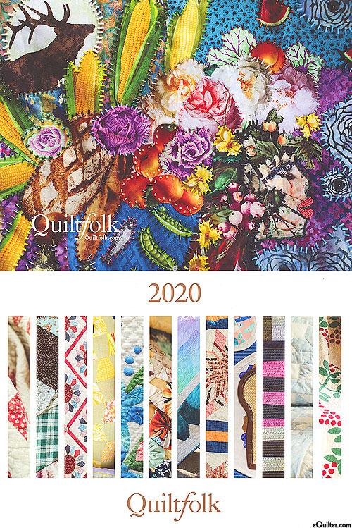 2020 Calendar - Quiltfolk