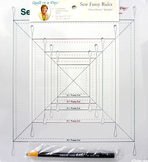 Quilt in a Day - Sew Fussy Ruler - 5-in-1