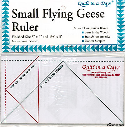 Quilt in a Day - Small Flying Geese Ruler