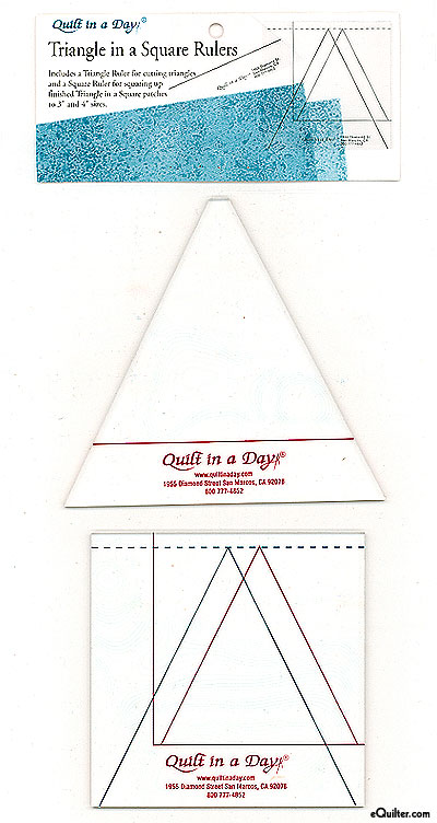 Quilt in a Day - Triangle in a Square Ruler