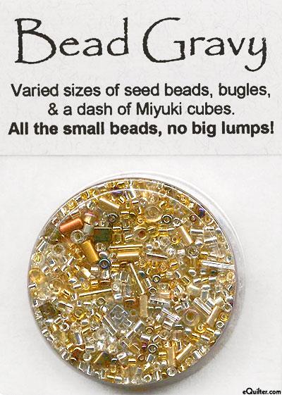 Bead Gravy Beads - Metallic Demi-Glace