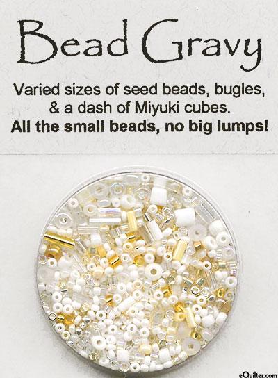 Bead Gravy Beads - Bechamel White