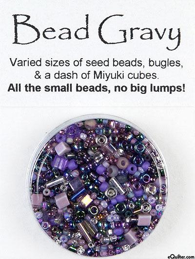 Bead Gravy Beads - Blackberry Violet