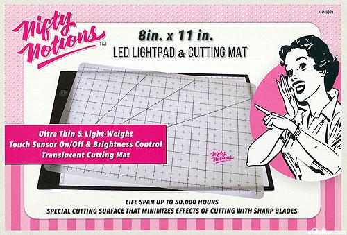 "LED Lightpad & Cutting Mat - 8"" x 11"""