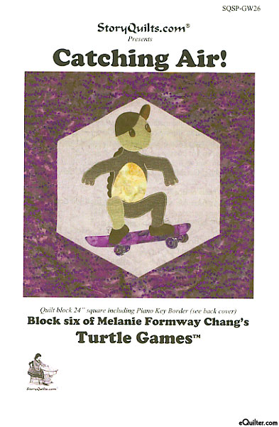 Catching Air - Block 6 of Turtle Games by Melanie Formway Chang