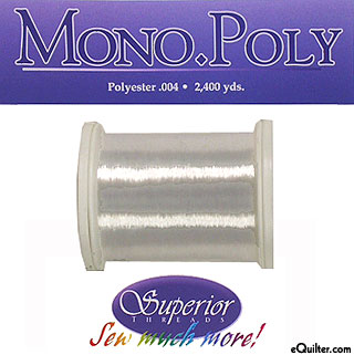 Mono Poly Polyester Thread - Clear