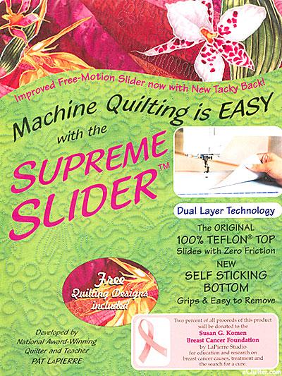 Supreme Slider - Teflon Free-Motion Quilting Sheet - Original