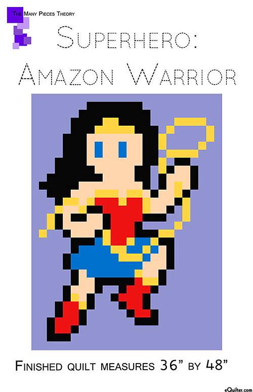 Superhero: Amazon Warrior - Quilt Pattern by Toni Smith
