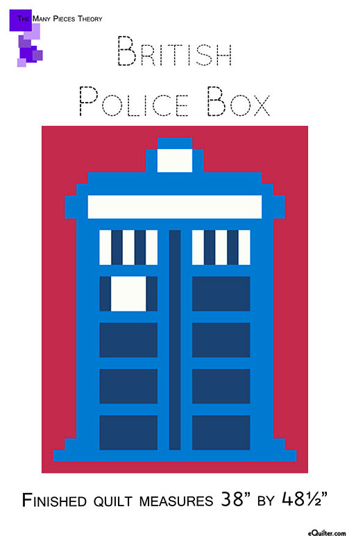 British Police Box - Quilt Pattern by Toni Smith