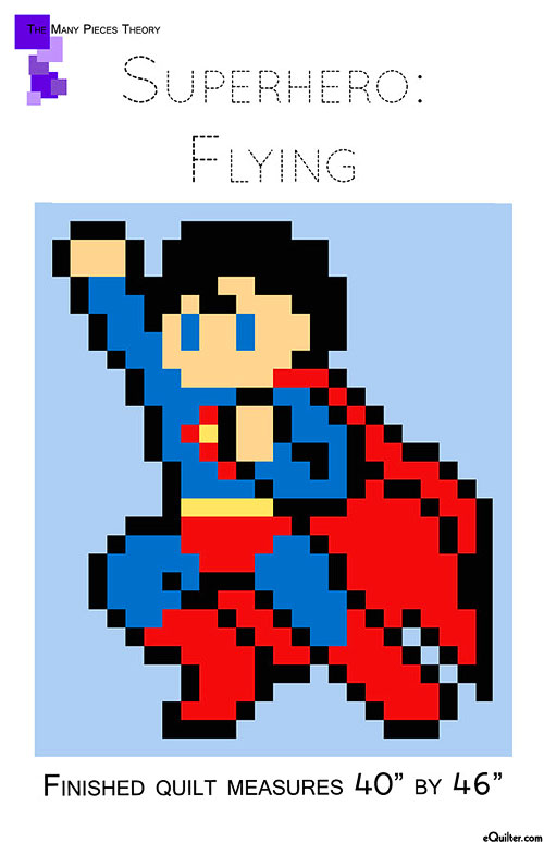 Superhero: Flying - Quilt Pattern by Toni Smith