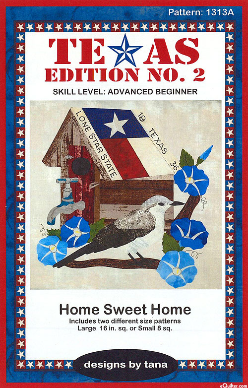 Home Sweet Home - Appliqué Pattern by Designs by Tana