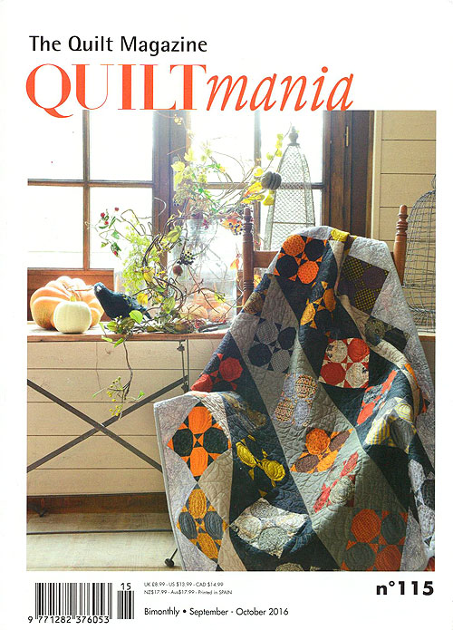 Quiltmania Magazine - No. 115, September/October 2016