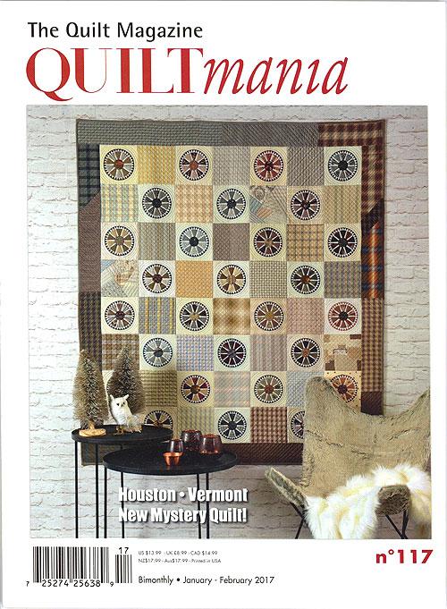 Quiltmania Magazine - No. 117, January/February 2017
