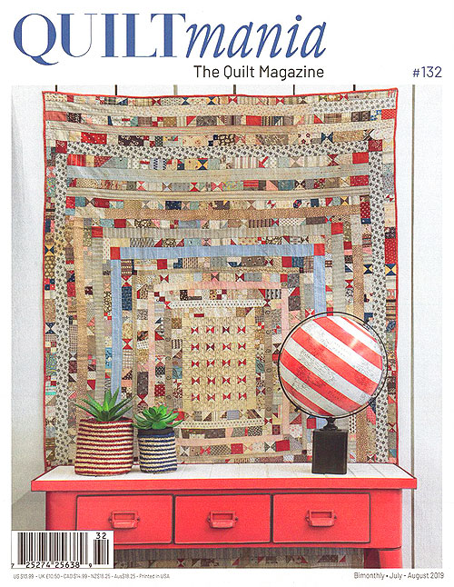 Quiltmania Magazine - No. 132, July/August 2019