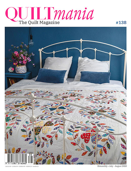 Quiltmania Magazine - No. 138, July/August 2020