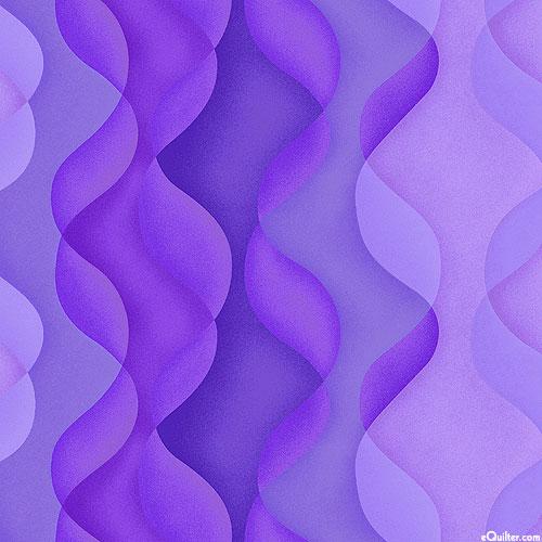 Playa - Coastal Beach Dunes - Violet Purple