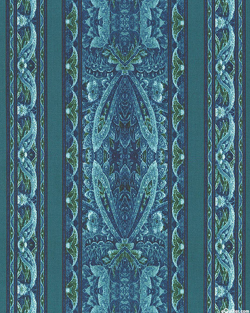 Chelsea - Lacewing Stripe - Teal
