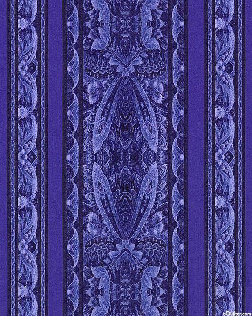 Chelsea - Lacewing Stripe - Violet Purple