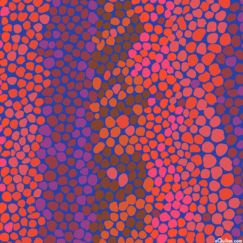 Kaffe Collective - Pebble Mosaic - Cobalt