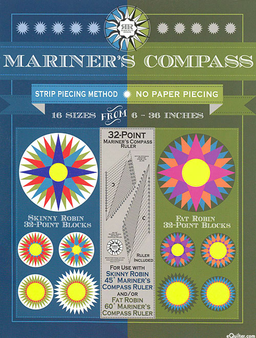Mariner's Compass - 32-Point Ruler