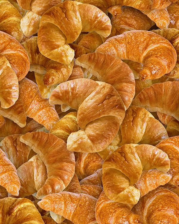 Bakery Delights - Croissants - Toasted Tan - DIGITAL PRINT