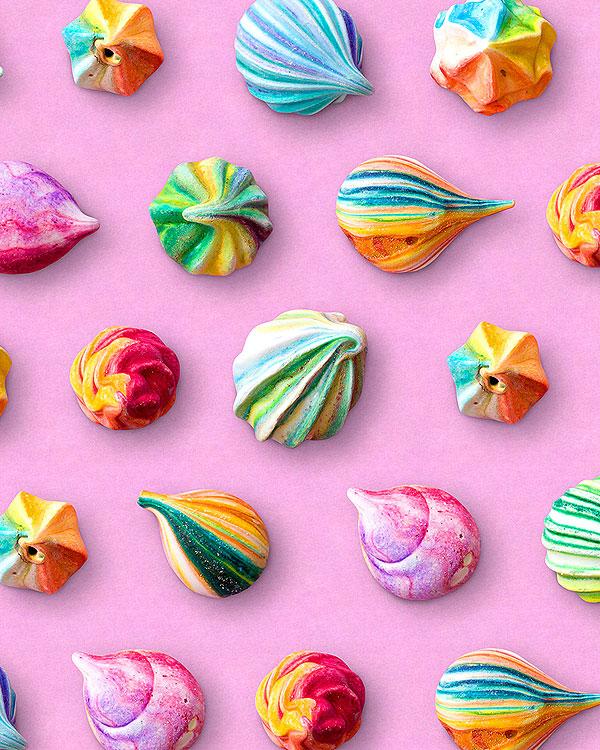 Confections - Meringues - Taffy Pink - DIGITAL PRINT