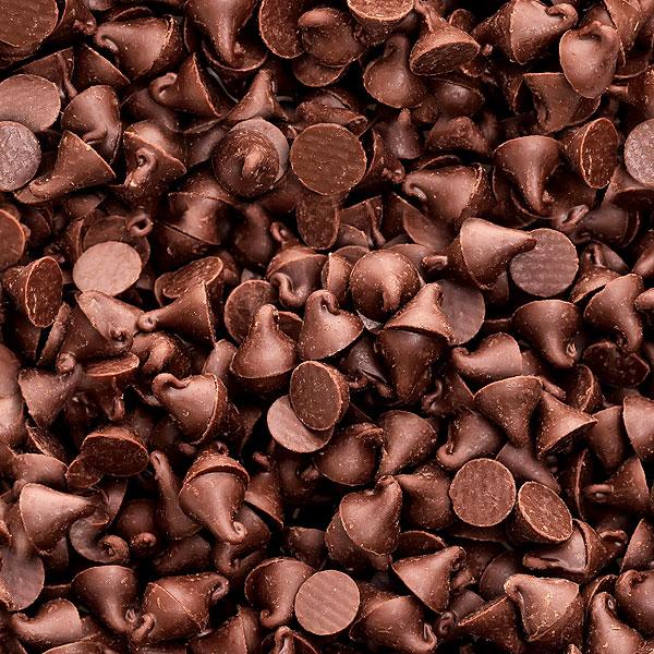 Chocolate Chips - Milk Chocolate Brown - DIGITAL PRINT