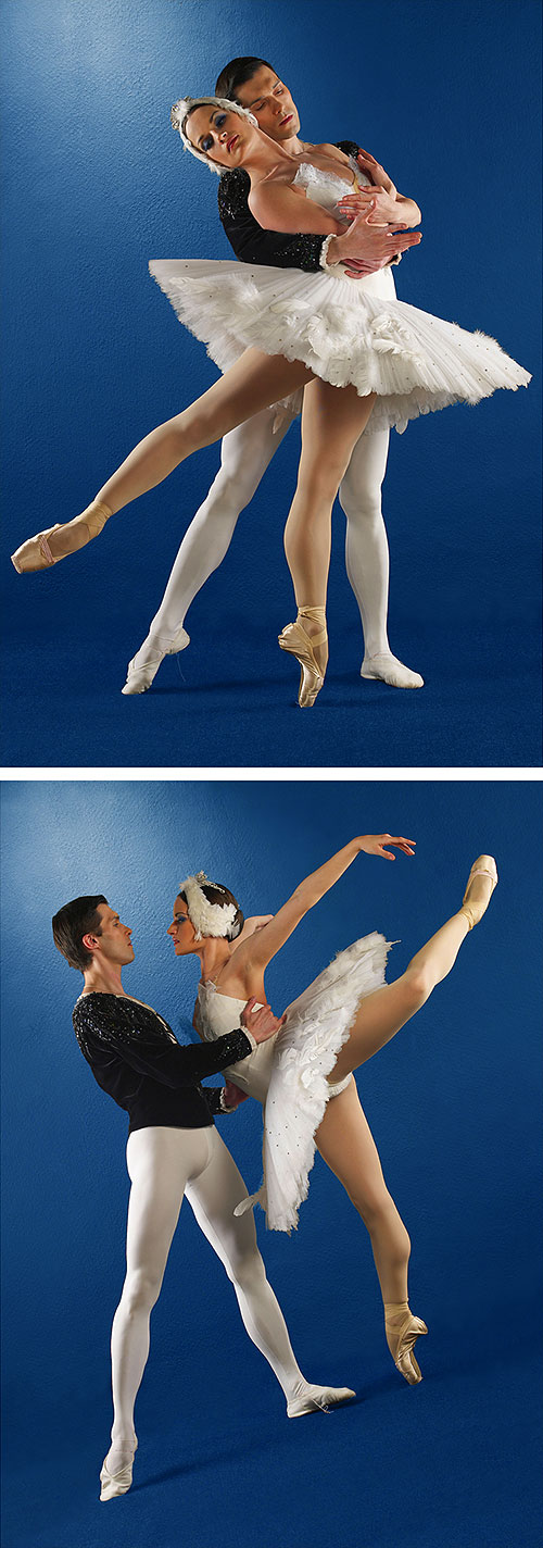 "Ballet Dancers 2 - 31"" x 44"" PANEL - DIGITAL PRINT"