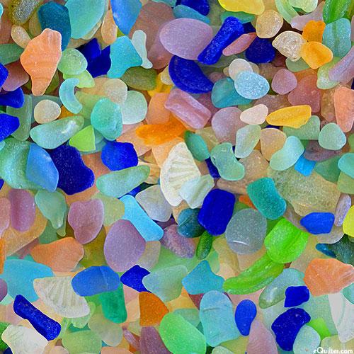 Smooth Sea Glass - Pastel - DIGITAL PRINT