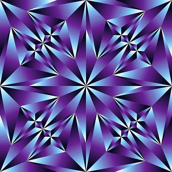 Crystal Cut Texture - Amethyst Purple - DIGITAL PRINT