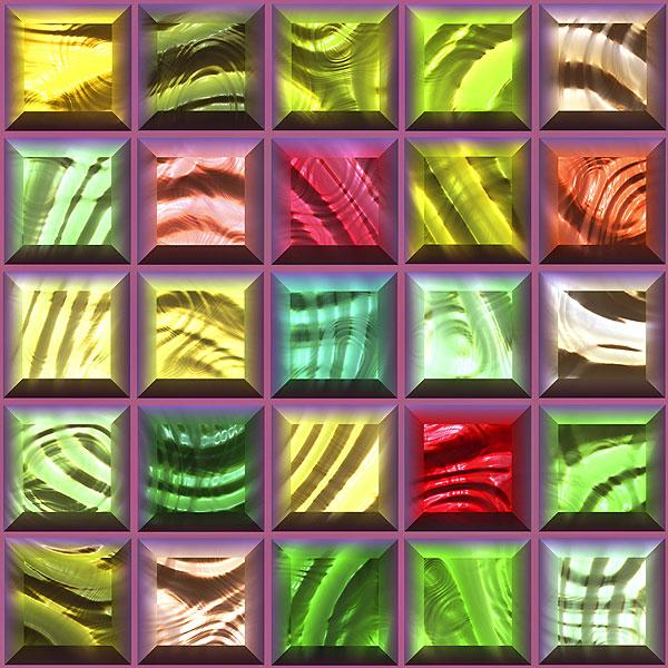 Glass Tiles - Raisin - DIGITAL PRINT