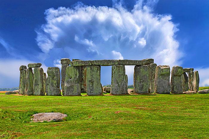 "Stonehenge - 29"" x 44"" PANEL - DIGITAL PRINT"
