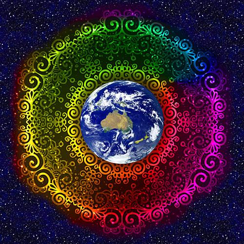 "Love Your Mother CHALLENGE - Australia - DIGITAL 43"" x 44"" PANEL"