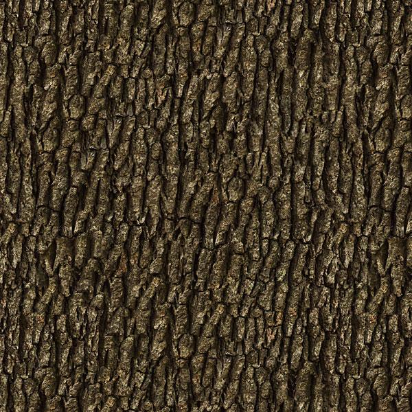 Tree Bark - Old Oak - Espresso Brown - DIGITAL PRINT