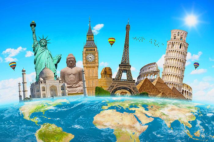 "Monumental Travel - 29"" x 44"" PANEL - DIGITAL PRINT"