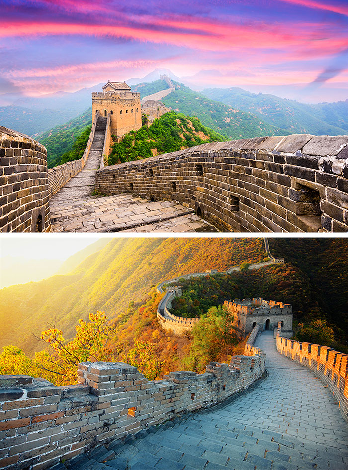 "The Great Wall of China - 32"" x 44"" PANEL - DIGITAL PRINT"