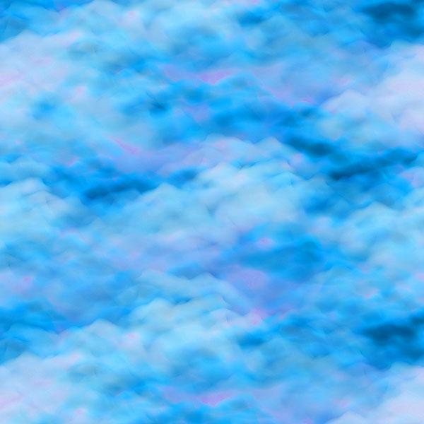 Cloudscape - Ocean Blue -DIGITAL PRINT