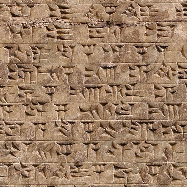 Antiquities - Cuneiform - Dune Brown - DIGITAL PRINT
